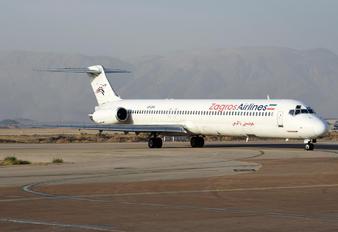 EP-ZAK - Zagros Air McDonnell Douglas MD-83