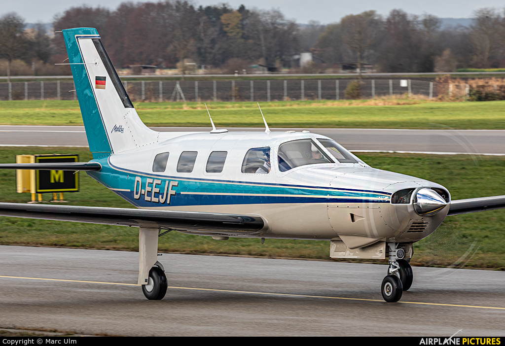 Private D-EEJF aircraft at Augsburg