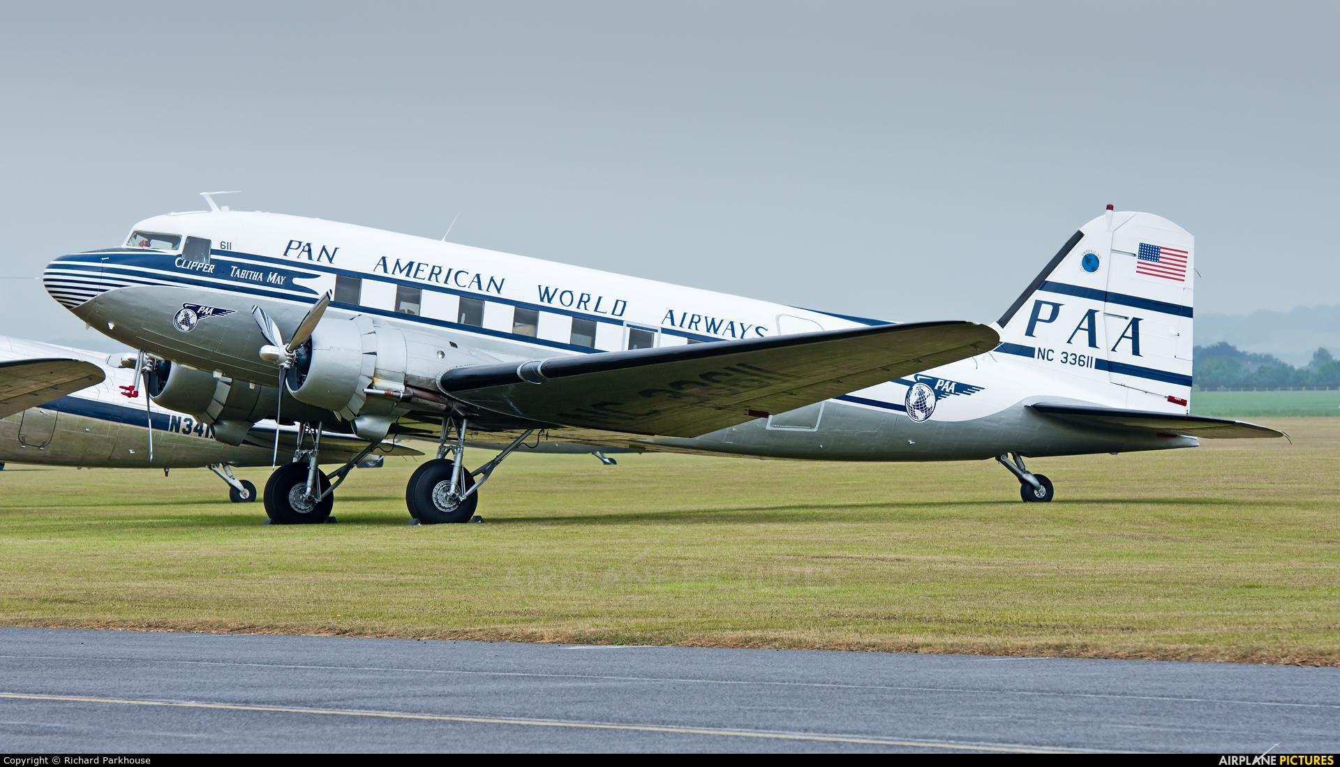 Pan Am NC33611 aircraft at Duxford