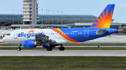 N320NV - Allegiant Air Airbus A319