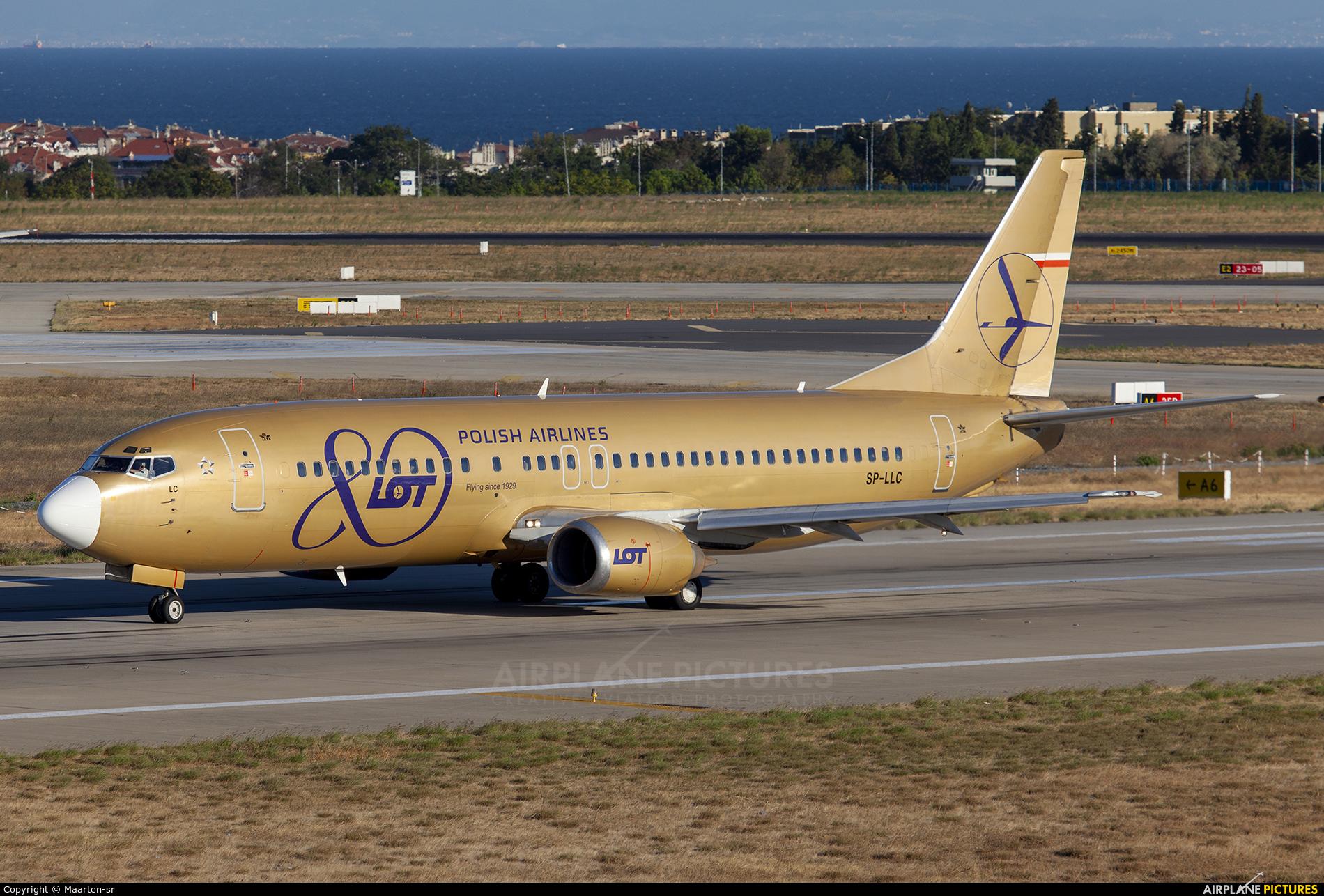 LOT - Polish Airlines SP-LLC aircraft at Istanbul - Ataturk
