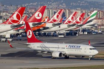 TC-JFG - Turkish Airlines Boeing 737-800