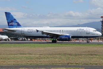 N606JB - JetBlue Airways Airbus A320