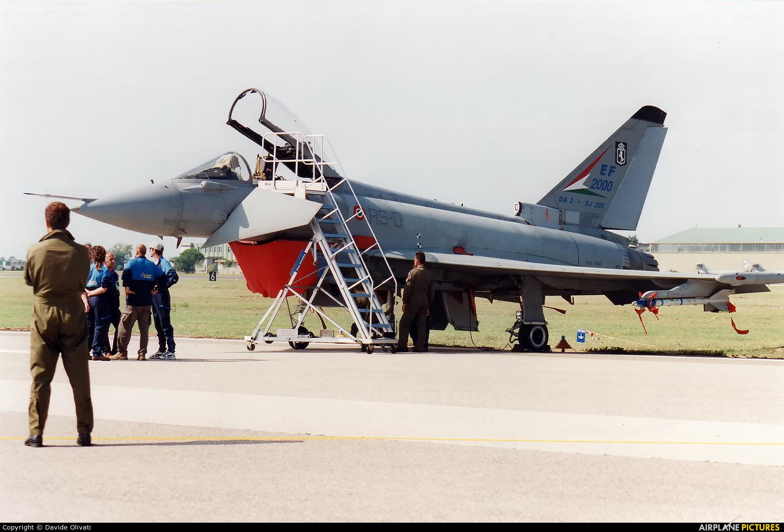 Italy - Air Force MM X.602 aircraft at Grosseto - Corrado Baccarini
