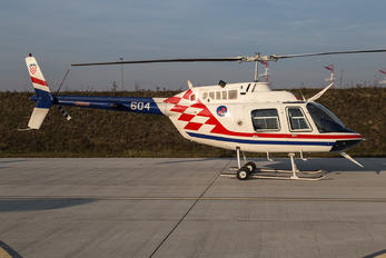 604 - Croatia - Air Force Bell 206B Jetranger III