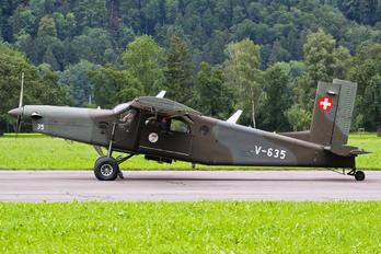 V-635 - Switzerland - Air Force Pilatus PC-6 Porter (all models)