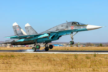 12 - Russia - Air Force Sukhoi Su-34