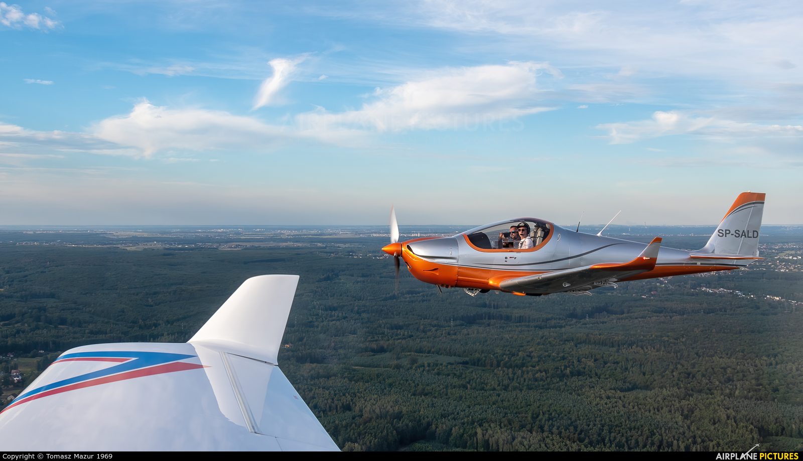 Private SP-SALD aircraft at Off Airport - Poland