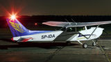 Goldwings Flight Academy Cessna 172 Skyhawk (all models except RG) SP-IDA at Warsaw - Babice airport