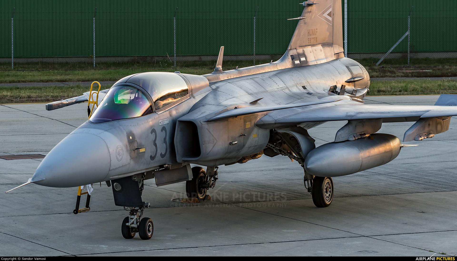 Hungary - Air Force 33 aircraft at Kecskemét