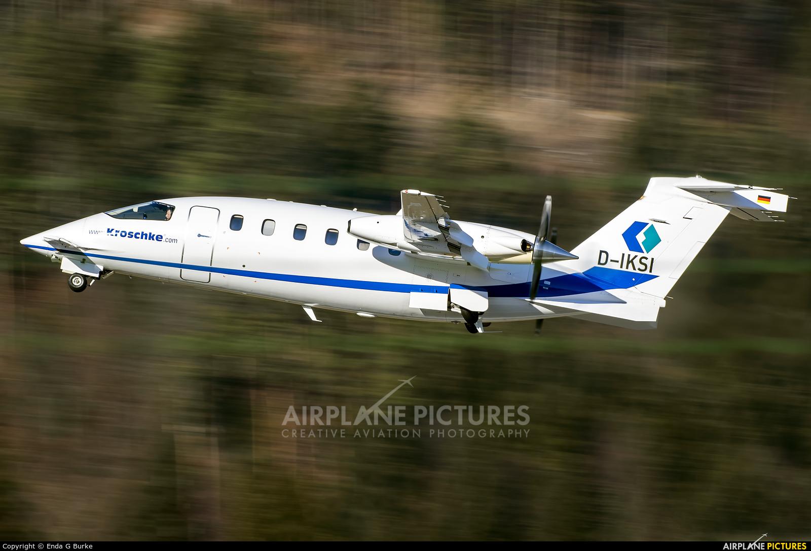 Private D-IKSI aircraft at Innsbruck