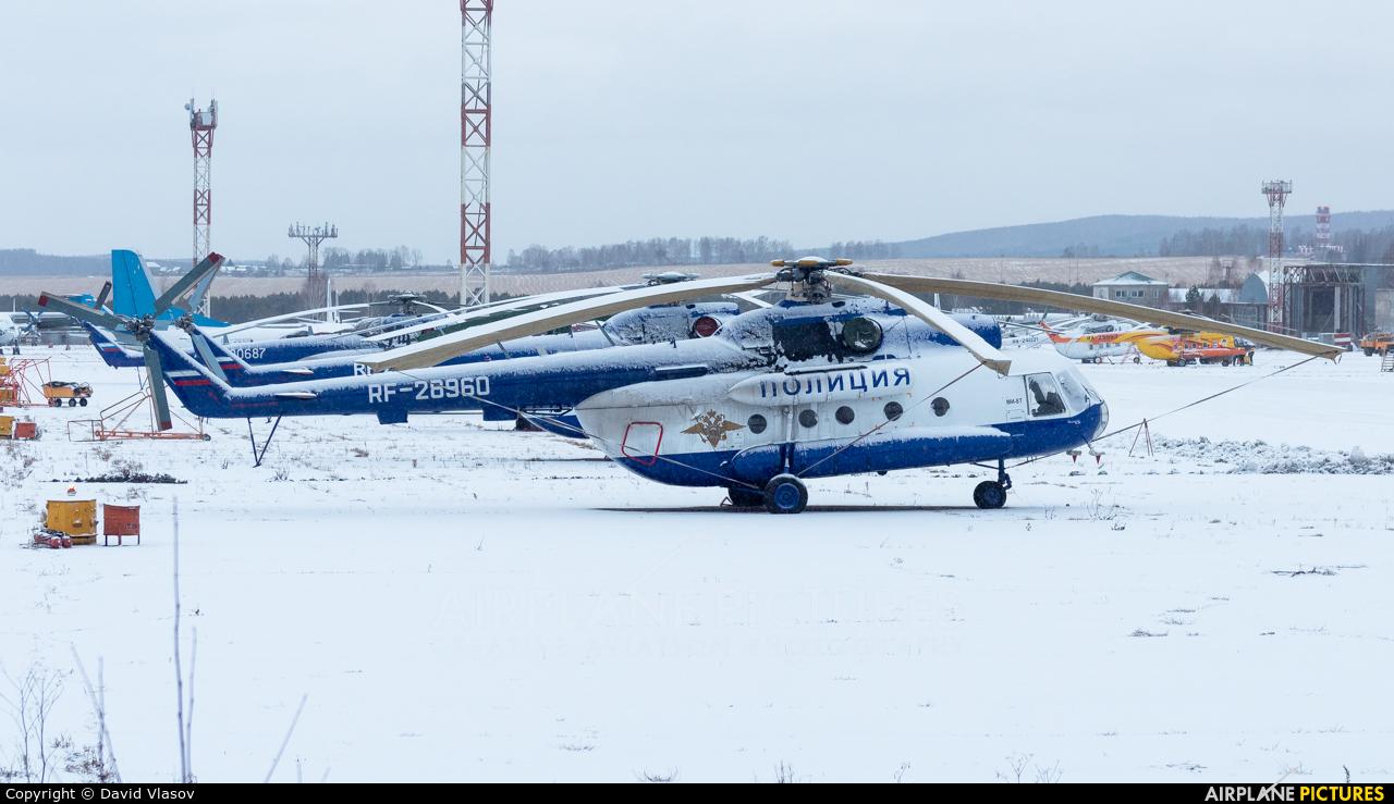 Russia - Police RF-28960 aircraft at Krasnoyarsk - Cheremshanka