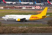 Rare charter flight of Air Ghana B737 to Madrid title=