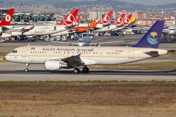 HZ-AS43 - Saudi Arabian Airlines Airbus A320