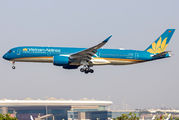 Vietnam Airlines A350 visited Mumbai as a cargo flight  title=