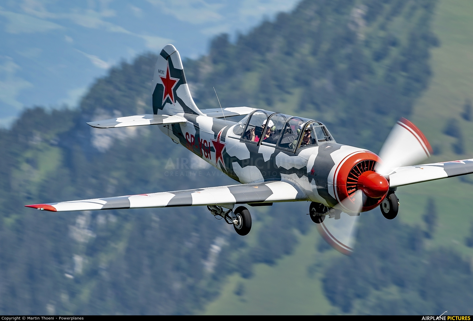 Private SP-YGI aircraft at Off Airport - Swiss Alps