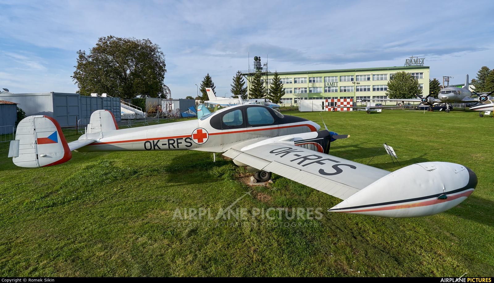 CSA - Czechoslovak Airlines OK-RFS aircraft at Uherské Hradiště - Kunovice