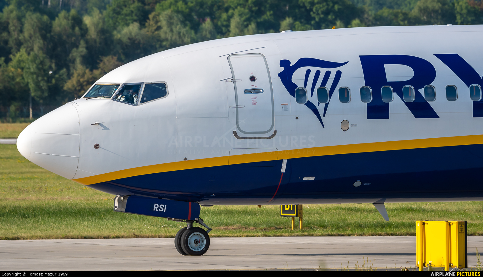 Ryanair Sun SP-RSI aircraft at Kraków - John Paul II Intl