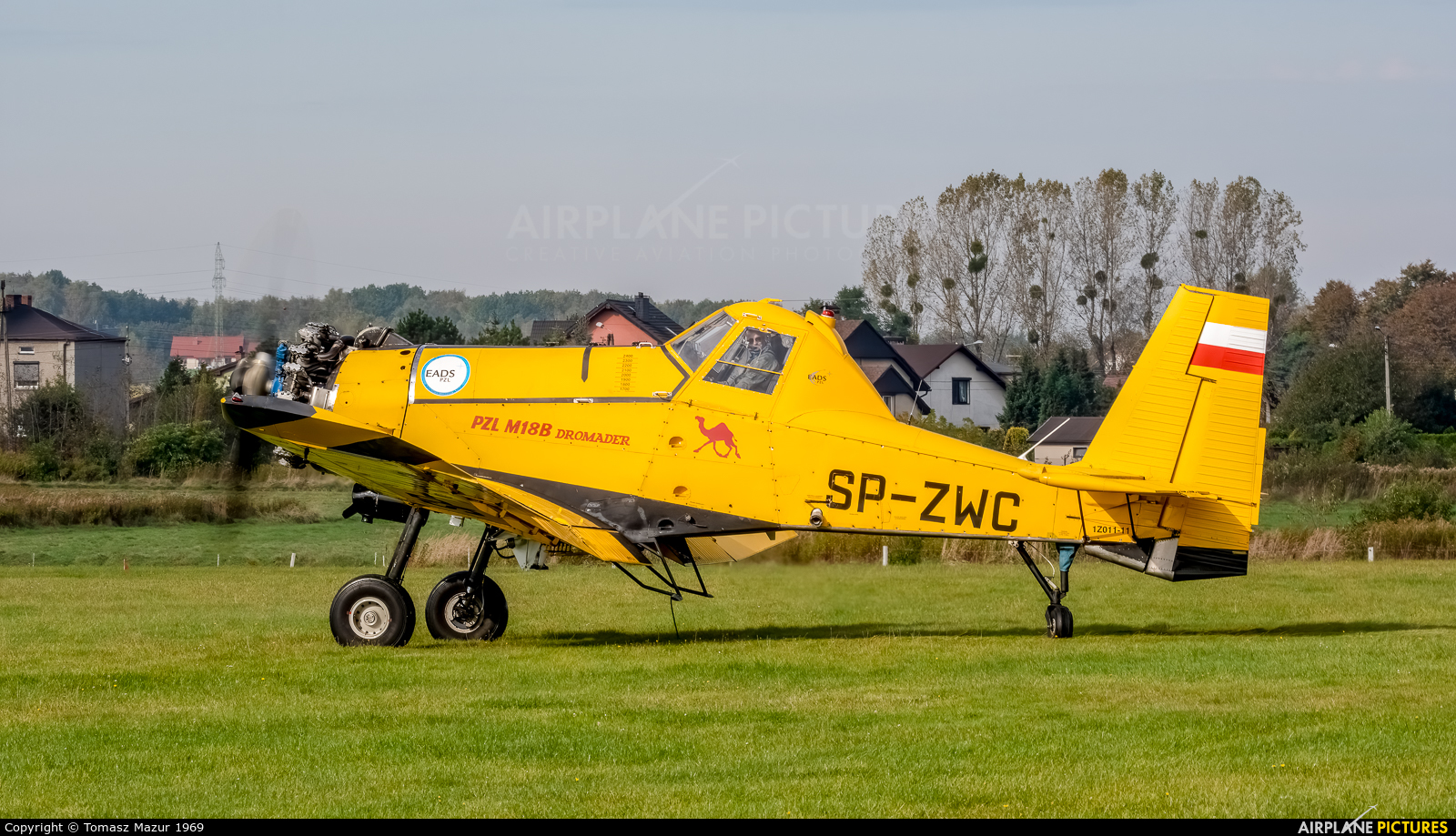 Private SP-ZWC aircraft at Rybnik - Gotartowice