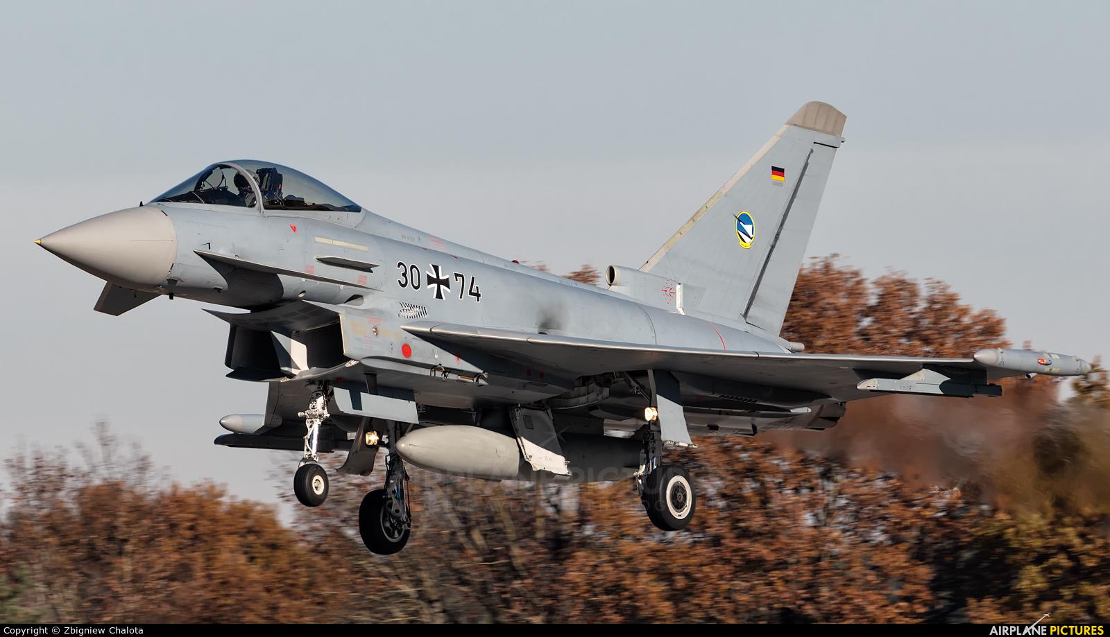 Germany - Air Force 30+74 aircraft at Ingolstadt - Manching