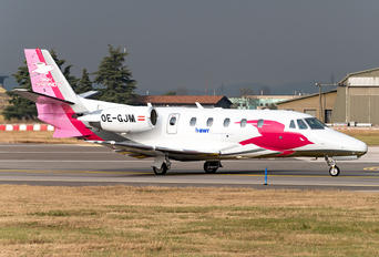 OE-GJM - Pink Aviation Cessna 560XL Citation XLS