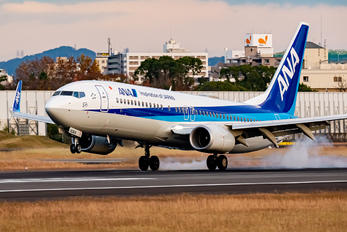 JA90AN - ANA - All Nippon Airways Boeing 737-800
