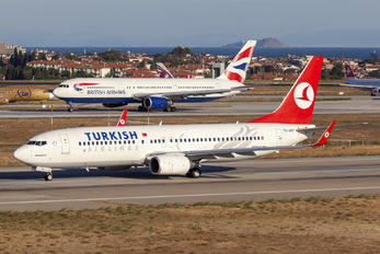 TC-JGY - Turkish Airlines Boeing 737-800