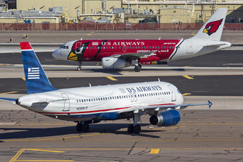 N633AW - US Airways Airbus A320