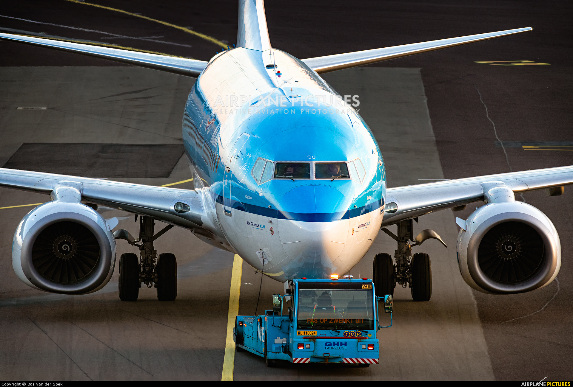 KLM PH-BGU aircraft at Amsterdam - Schiphol