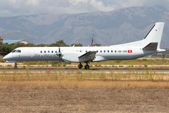 HB-IZB - Sky Work Airlines SAAB 2000