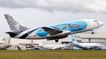 HR-MRZ - AVIATSA Boeing 737-200 aircraft