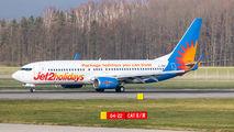 G-JZBD - Jet2 Holidays Boeing 737-800 aircraft