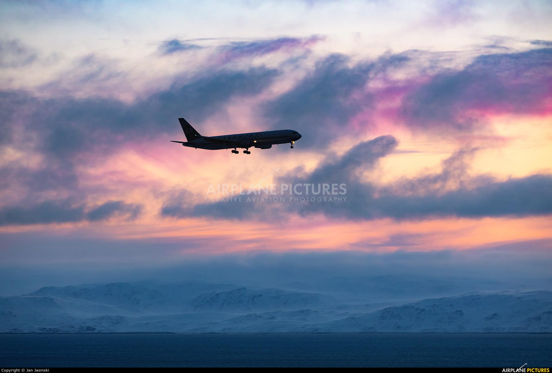 Cargojet Airways C-GVIJ aircraft at Iqaluit