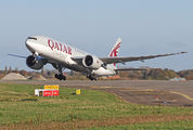 A7-BFU - Qatar Airways Cargo Boeing 777F aircraft