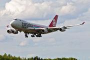 LX-RCV - Cargolux Italia Boeing 747-400F, ERF aircraft