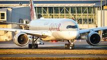A7-ALJ - Qatar Airways Airbus A350-900 aircraft