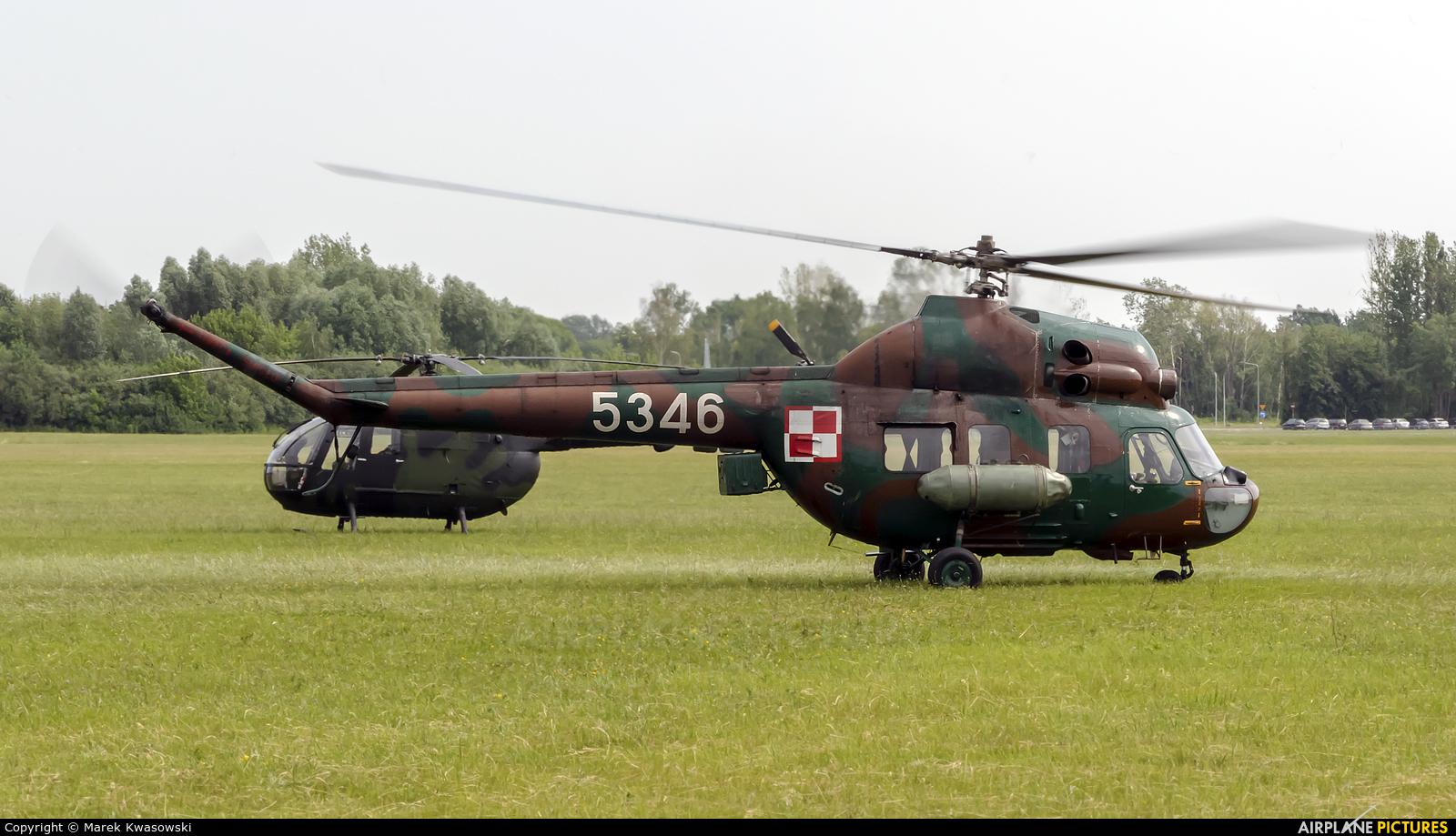Poland - Army 5346 aircraft at Płock