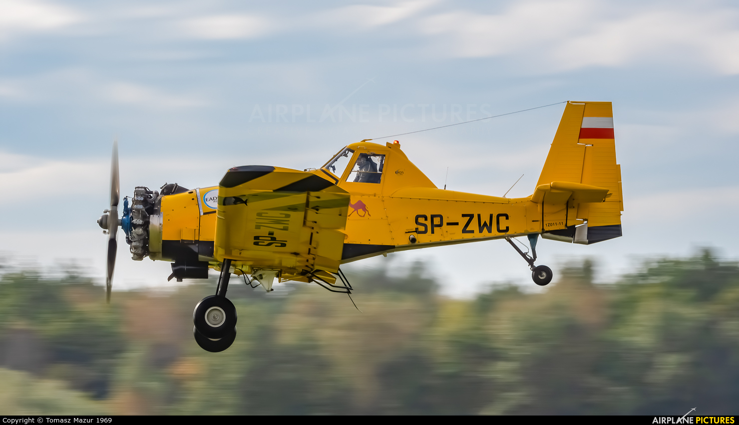 Private SP-ZWC aircraft at Rybnik - Gotartowice