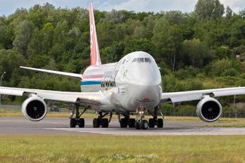 LX-VCN - Cargolux Boeing 747-8F
