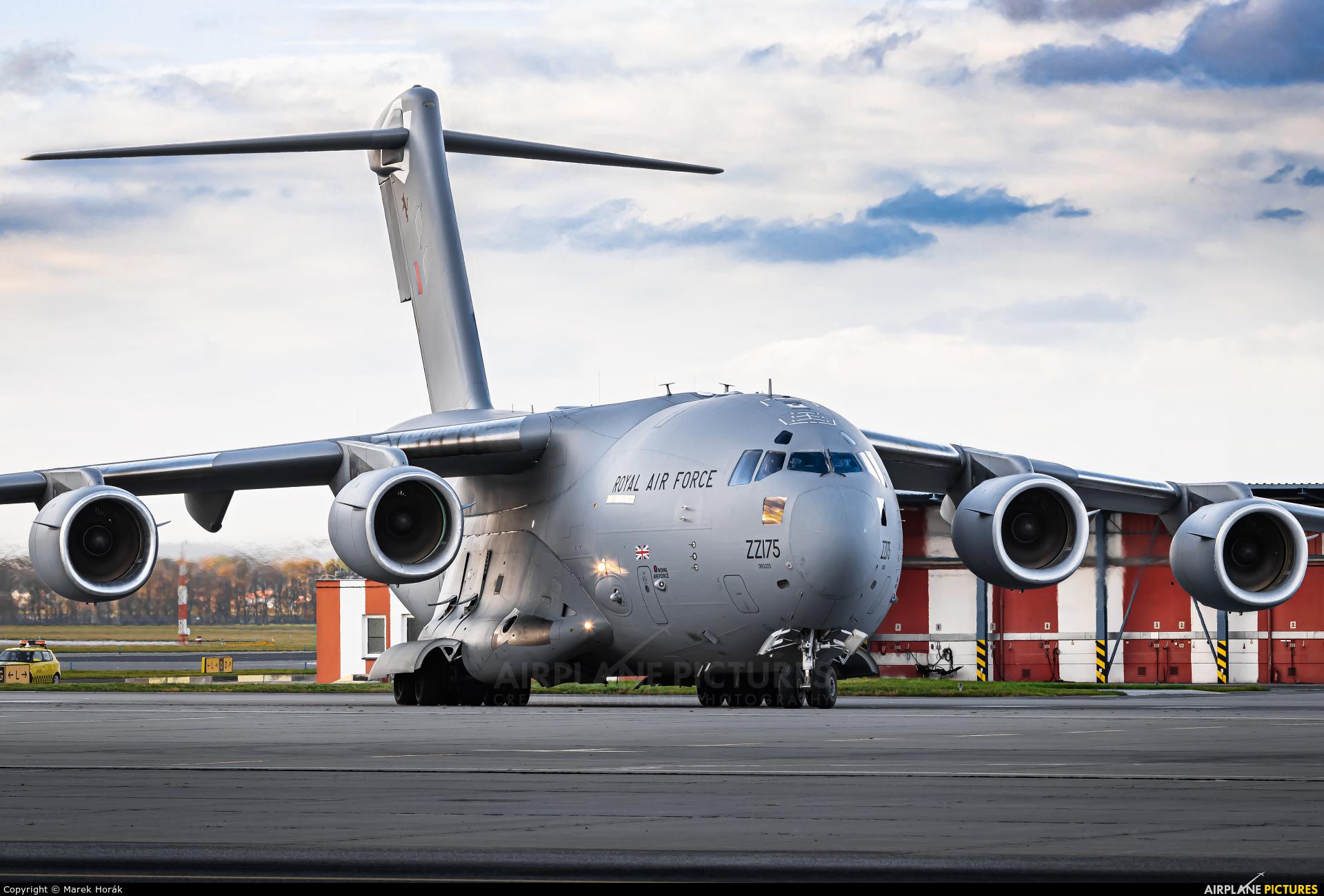 Royal Air Force ZZ175 aircraft at Prague - Václav Havel