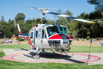 N494DF - California - Dept. of Forestry & Fire Protection Bell UH-1D Iroquois