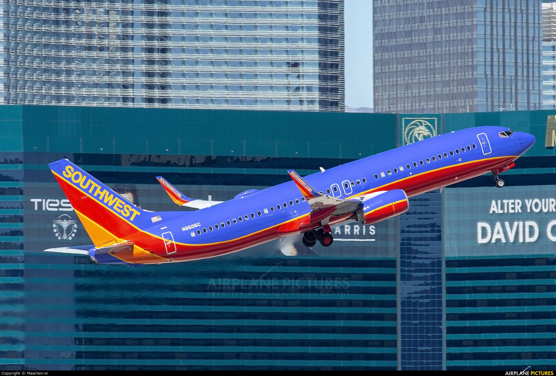 Southwest Airlines N6606C aircraft at Las Vegas - McCarran Intl