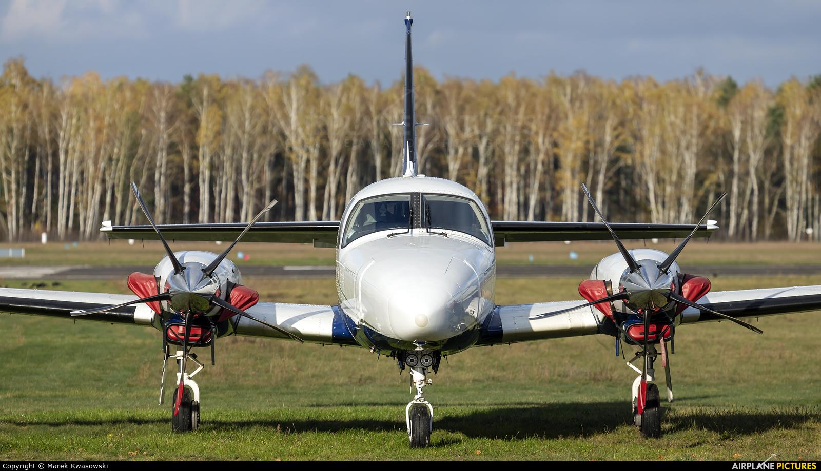 Private N118HB aircraft at Warsaw - Babice