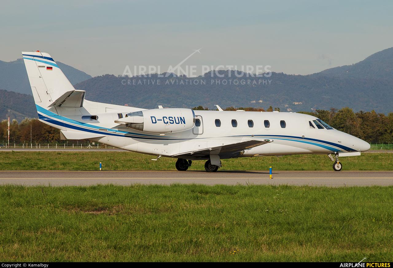 Air Hamburg D-CSUN aircraft at Bergamo - Orio al Serio