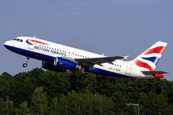 G-EUPS - British Airways Airbus A319