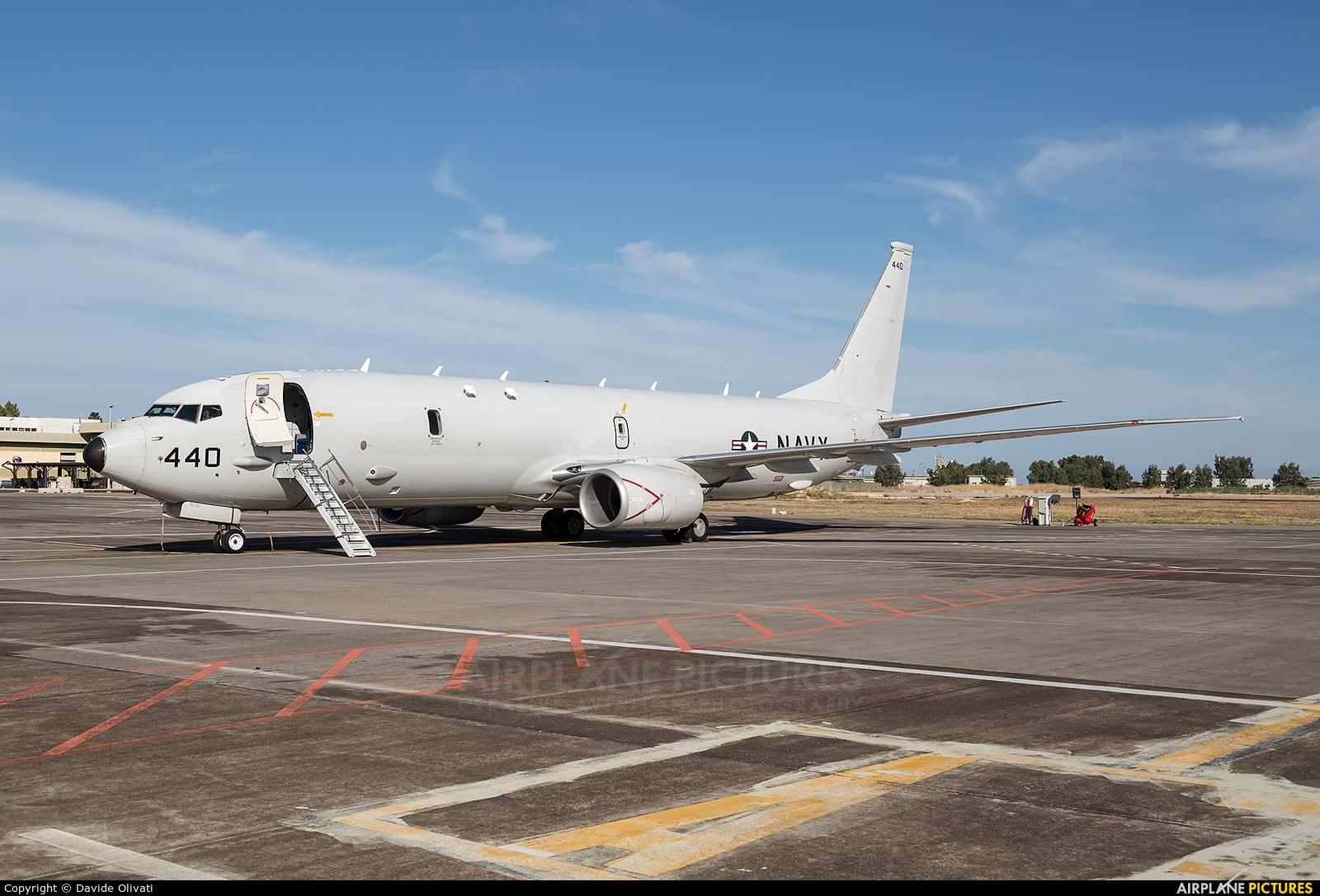 USA - Navy 168440 aircraft at Sigonella