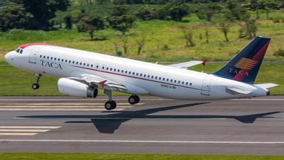 N495TA - TACA Airbus A320