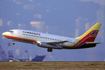 N197AL - Cambodia Airlines Boeing 737-200