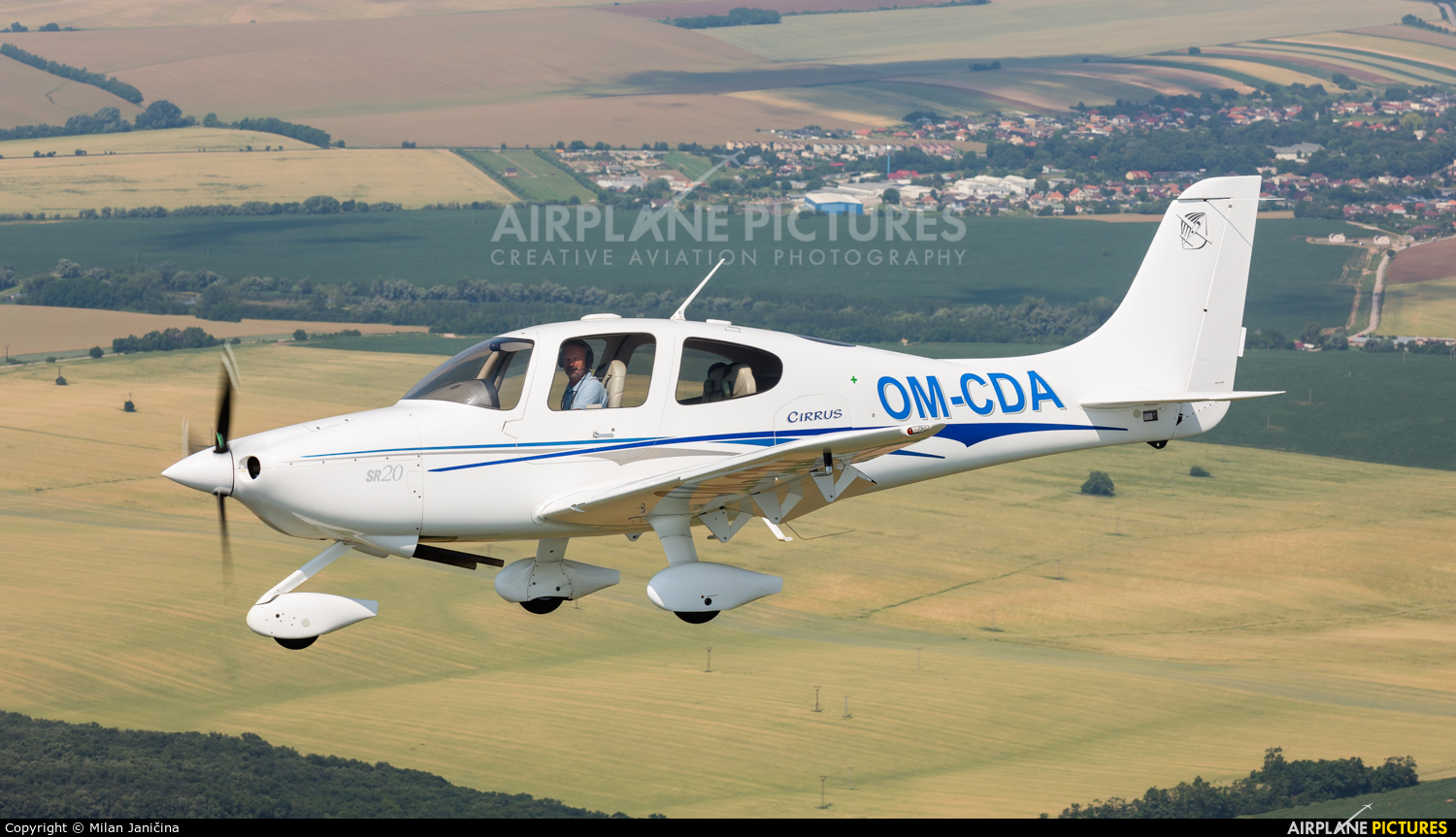 Private OM-CDA aircraft at In Flight - Slovakia