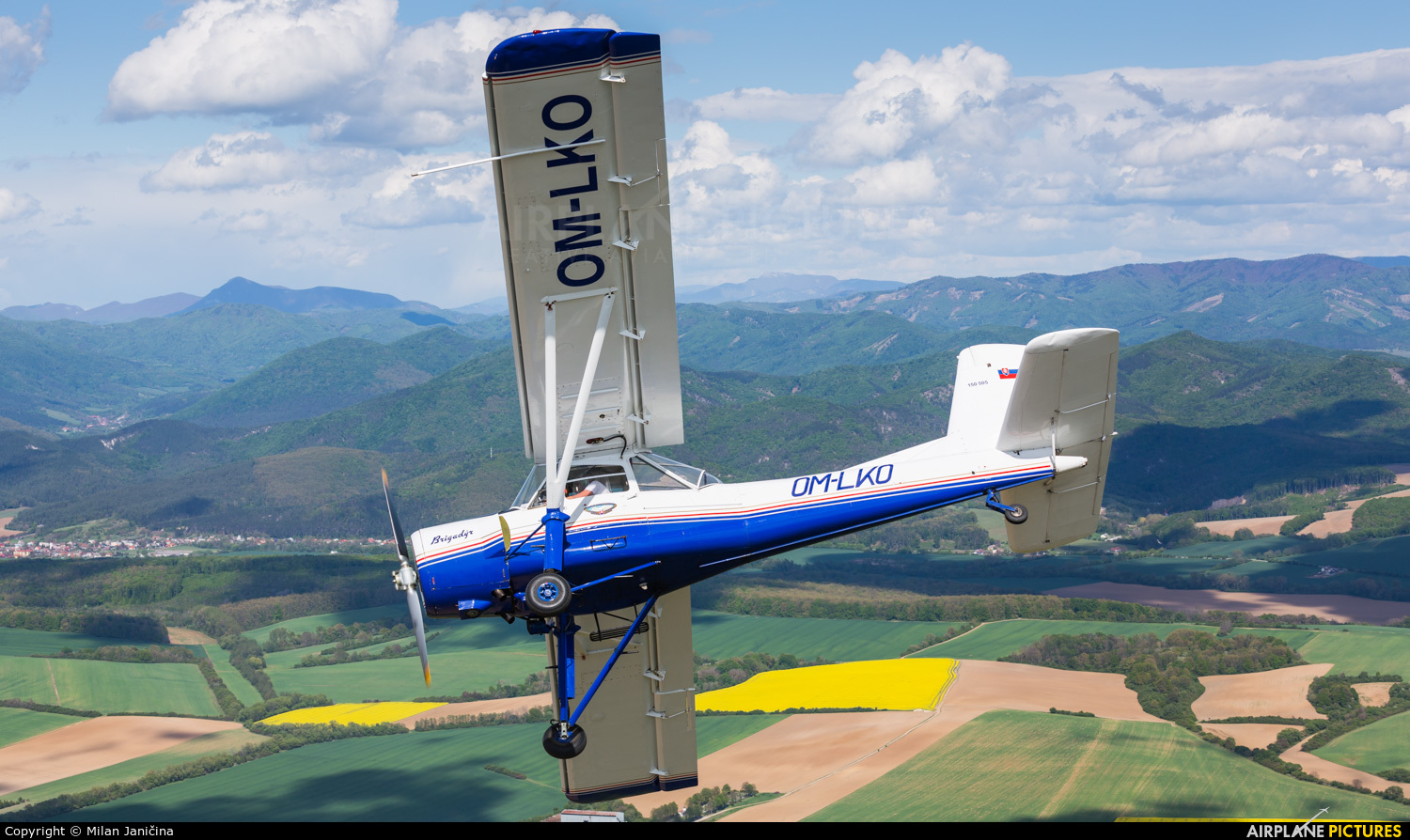 Private OM-LKO aircraft at In Flight - Slovakia